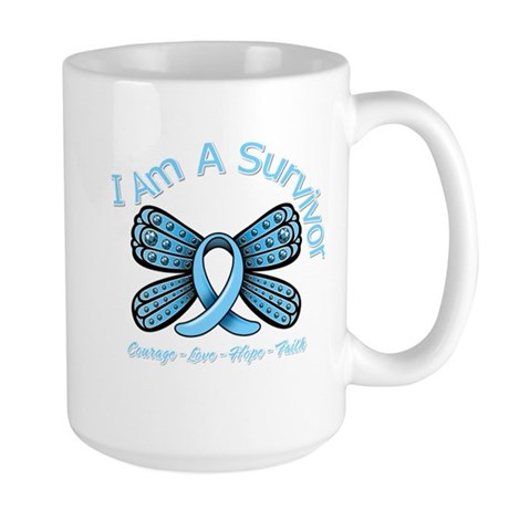 Thyroid Disease I'm A Survivor Large Mug