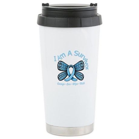 Thyroid Disease I'm A Survivor Ceramic Travel Mug