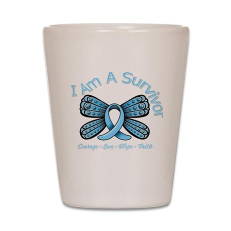Thyroid Disease I'm A Survivor Shot Glass