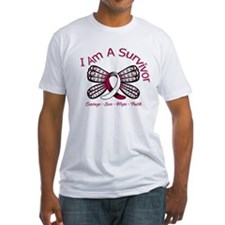 Throat Cancer I'm A Survivor Shirt