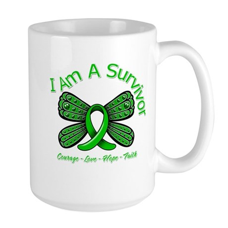 TBI I'm A Survivor Large Mug