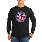 American Pi, Pie Long Sleeve Dark T-Shirt