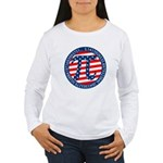 American Pi, Pie Women's Long Sleeve T-Shirt
