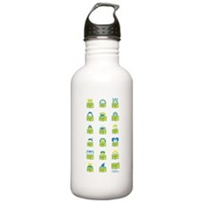 RIF Water Bottle - Book Characters