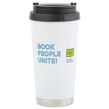 RIF Ceramic Travel Mug - Book People Unite