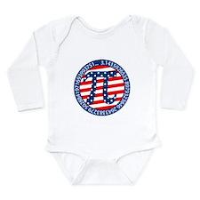 American Pi, Pie Long Sleeve Infant Bodysuit
