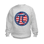 American Pi, Pie Kids Sweatshirt