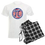 American Pi, Pie Men's Light Pajamas