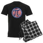 American Pi, Pie Men's Dark Pajamas