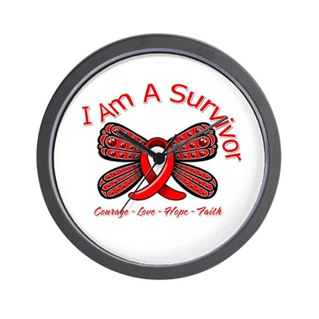 Stroke I'm A Survivor Wall Clock