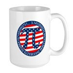 American Pi, Pie Large Mug