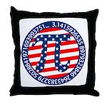 American Pi, Pie Throw Pillow