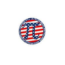 American Pi, Pie Mini Button (10 pack)