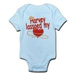 Harvey Lassoed My Heart Infant Bodysuit