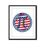 American Pi, Pie Framed Panel Print