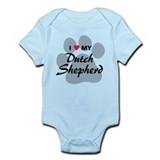 Dutch shepherd Bodysuits