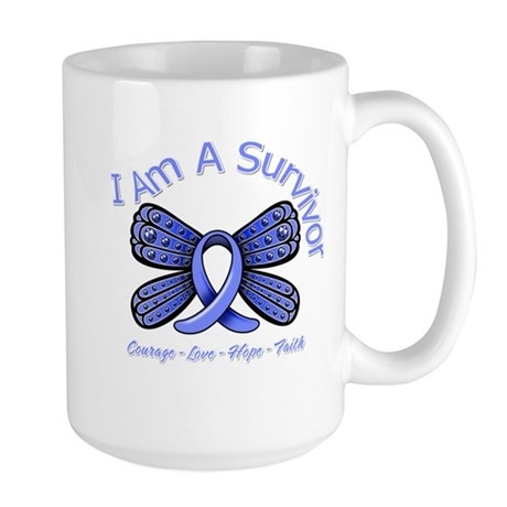 Stomach Cancer I'm A Survivor Large Mug