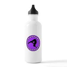 Gymnast in Purple Water Bottle