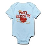 Henry Lassoed My Heart Infant Bodysuit