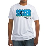 Soccer mom Fitted T-Shirt