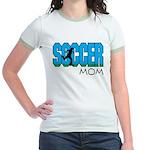 Soccer mom Jr. Ringer T-Shirt