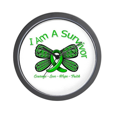 Spinal Cord Injury I'm A Survivor Wall Clock