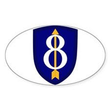 8th Infantry Decal