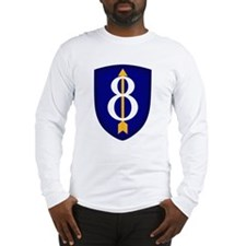8th Infantry Long Sleeve T-Shirt