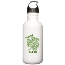 Pinch Me and Die Funny Irish Water Bottle