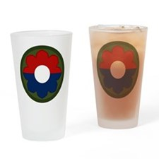 9th Infantry Drinking Glass