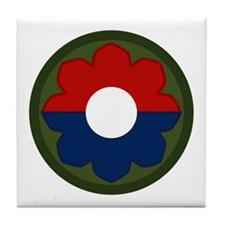 9th Infantry Tile Coaster