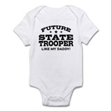 Future State Trooper  Baby Onesie