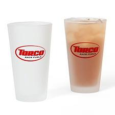 TORCO logo Drinking Glass