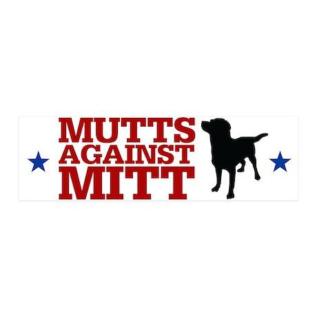 Mutts Against Mitt 21x7 Wall Peel