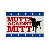 Mutts Against Mitt Rectangle Magnet (10 pack)