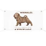 Shar Pei Attitude Banner