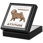 Shar Pei Attitude Keepsake Box