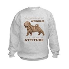 Shar Pei Attitude Sweatshirt