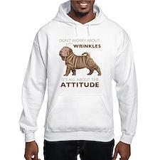 Shar Pei Attitude Hoodie
