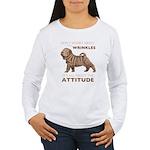 Shar Pei Attitude Women's Long Sleeve T-Shirt