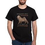 Shar Pei Attitude Dark T-Shirt