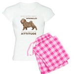 Shar Pei Attitude Women's Light Pajamas
