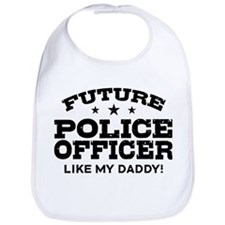Future Police Officer Bib