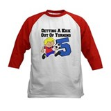 Soccer 5th Birthday Tee