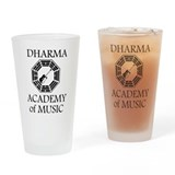 LOST Dharma Music Drinking Glass