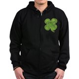 Cheers Fuckers! Funny Irish Zip Hoodie