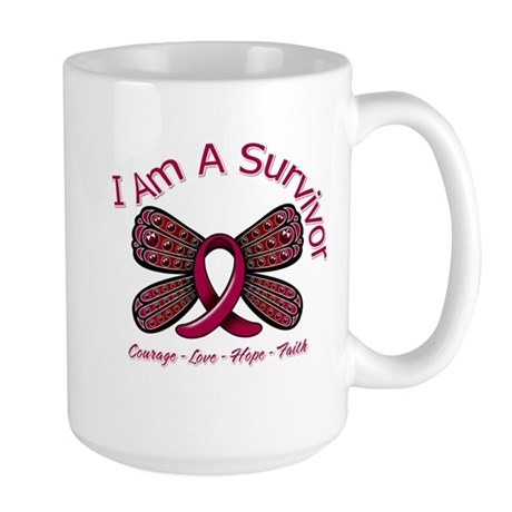 Sickle Cell Anemia Survivor Large Mug
