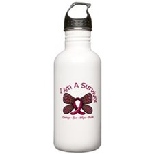 Sickle Cell Anemia Survivor Water Bottle