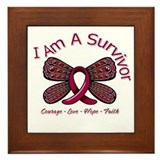 Sickle Cell Anemia Survivor Framed Tile