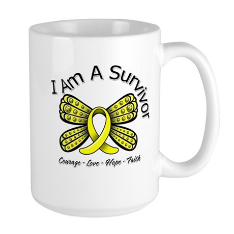 Sarcoma Cancer I'm A Survivor Large Mug